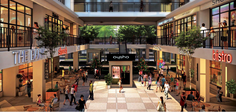 Jazz Retail Boulevard Concept with Dua Fronting